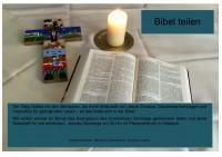 Bibel teilen