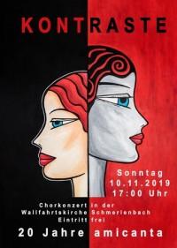 Kontraste - Chorkonzert von amicanta